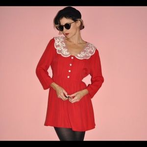 Vintage 1980s babydoll Dress